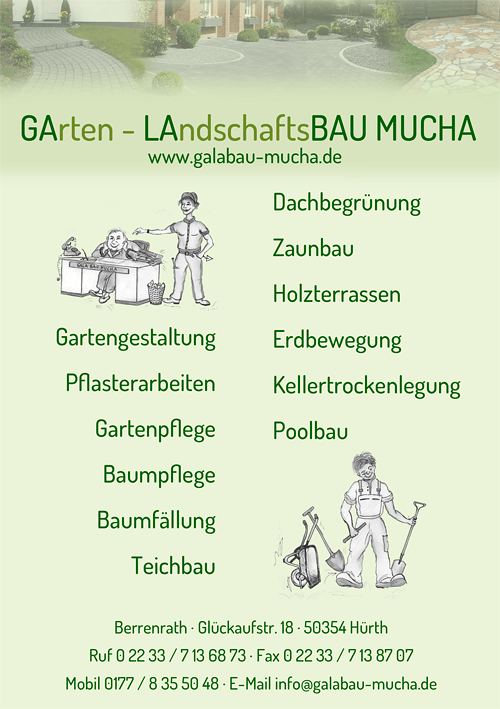 Gartenbau in Hürth GALABAU MUCHA
